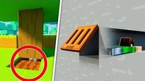 10 Secret Entrances Your Friends will NEVER Find in Minecraft!