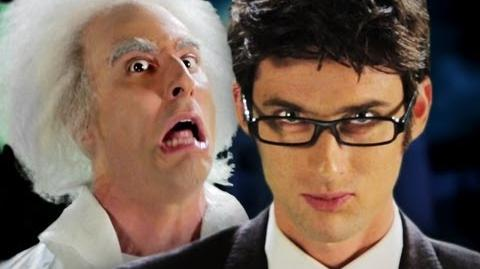 Doc Brown vs Doctor Who. Epic Rap Battles of History Season 2