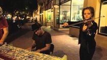 Transcendence Street Jam Live Music- Lindsey Stirling