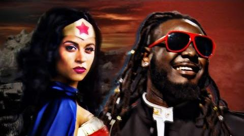 Wonder Woman vs Stevie Wonder. Epic Rap Battles of History