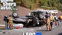 Rollover Traffic Accident - Hit and Run!! (GTA 5 LSPDFR GAMEPLAY)