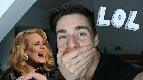 """Try Not To Laugh Challenge"" Funniest Adele interview ever!"