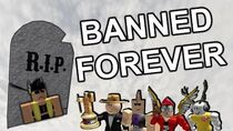 ROBLOX ACCOUNTS THAT ARE FOREVER BANNED!