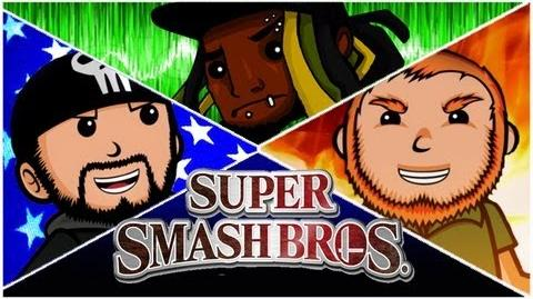 Super Best Friends Brawl - Super Smash Bros