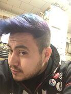 Aphex Arcade purple hair