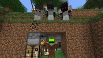 Minecraft Speedrunner VS 3 Hunters GRAND FINALE