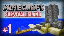 Minecraft Survival Island (Ep1)