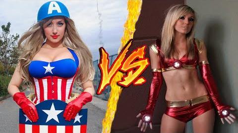 Iron Man VS Capitan America - Battaglia Rap Epica - Manuel Aski