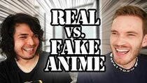 REAL VS. FAKE ANIME CHALLENGE (feat