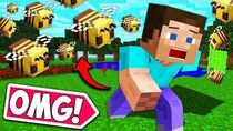 *CRAZIEST* BEE ATTACK EVER!! - Minecraft Funny Moments and Fails! BCC Plus