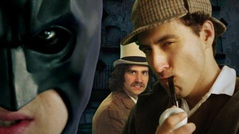 Batman vs Sherlock Holmes. Epic Rap Battles of History Season 2