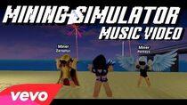 MINING SIMULATOR - DOMINUS (FRIENDS REMIX) ROBLOX MUSIC VIDEO