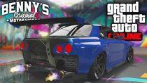 ELEGY RETRO CUSTOM SKYLINE IN GTA!! GTA 5 (Online)
