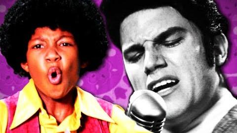 Michael Jackson VS Elvis Presley. Epic Rap Battles of History Season 2