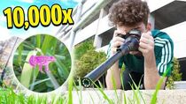 Using A 10,000x SUPER CAMERA To See ANYTHING!