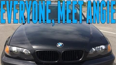 Everyone, Meet Angie BMW E46 Car Reveal - First Car