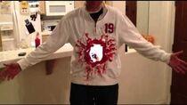 IPad2 Halloween Costume- Gaping hole in torso