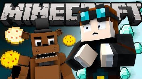 If TheDiamondMinecart Met FREDDY FAZBEAR - Part 1 (Minecraft Machinima)