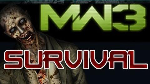Survival - Modern Warfare 3 - Survival aka Zombie Mode! (MW3 Spec-Ops Survival Mode)