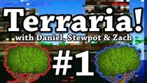 Terraria! Ep 1 Swimming is Difficult