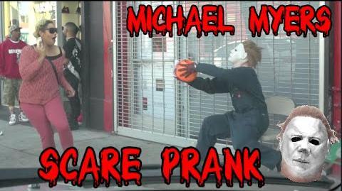 Michael Myers Halloween Scare Prank!