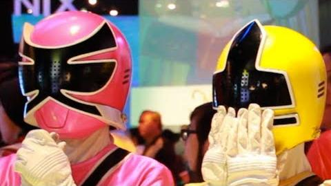 POWER RANGERS DANCE PARTY
