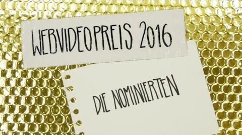 Marius Who?/Die Nominierten des Webvideopreis 2016