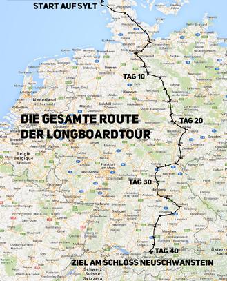 Longboard-tour