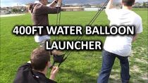 Bam Launcher 400ft Water Balloon Slingshot