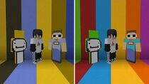 Minecraft, But We Are All Colorblind..