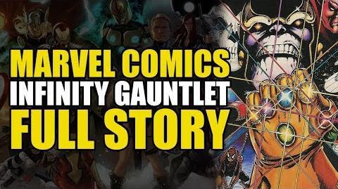 Marvel's Infinity Gauntlet Full Story