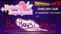 Hatoful Boyfriend BBL 1st Semester 1st Class English Live Dub Did You Know Anime