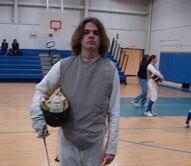 Tom fencing