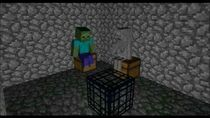 What really happens when monsters spawn with a monster spawner! - a minecraft animation
