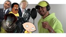 Rap Songs in Voice Impressions! (2019) Pennywise, Black Panther, Stewie Griffin MORE!