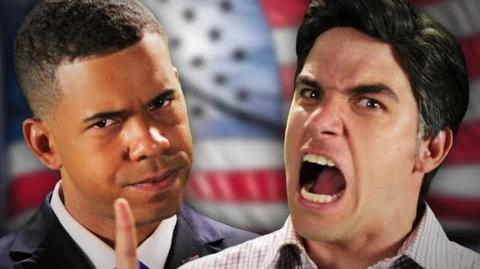 Barack Obama vs Mitt Romney. Epic Rap Battles Of History Season 2