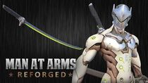 Genji's Sword - Overwatch - MAN AT ARMS REFORGED