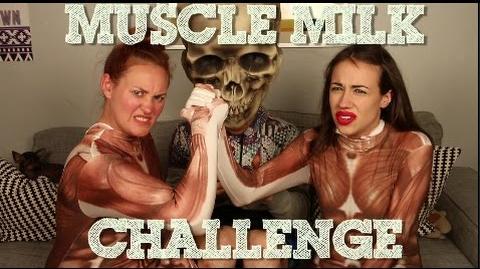 MUSCLE MILK CHALLENGE wif MIRANDA SINGS