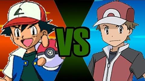 PokéBattle Royal - Ash(Johto Team) Vs Red(Origins)