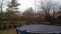 Trampoline time-lapse