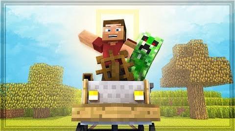 Minecart Modifications Minecraft Animation