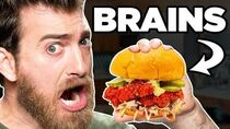 Nashville Hot Brains Sandwich Taste Test FOOD FEARS