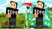Minecraft n00b Turns Professional
