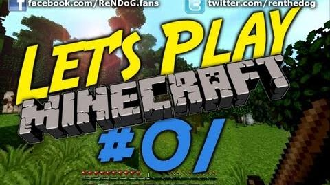 Minecraft Survival Let's Play S1 Episode 1 - Unlucky cows, Rainforests and Mole Holes!
