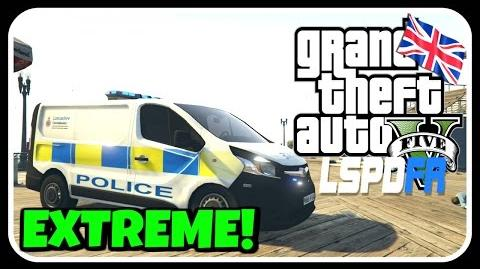 GTA 5 LSPDFR BRITISH PATROL - EXTREME CHASE!