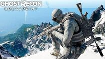 Ghost Recon Breakpoint STEALTH SNOW SNIPER! Ghost Recon Breakpoint Free Roam