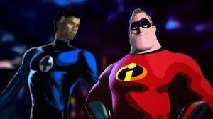 Mr. Incredible vs. Mr