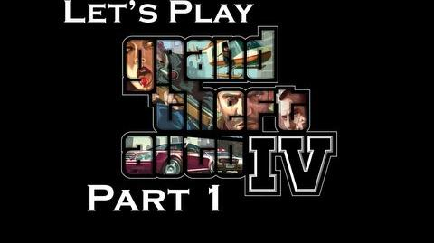 Let's Play Grand Theft Auto IV part 1 The Beginning