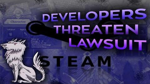 Steam Devs bypass Valve Ban and threaten to sue Steam Users