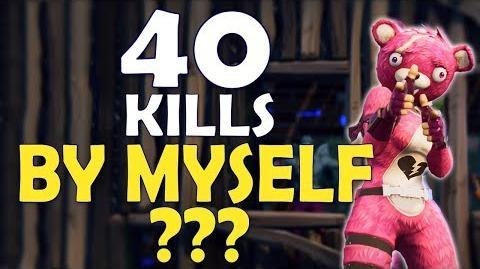 40 KILLS ALONE? WORLD RECORD MOST KILLS EVER IN FORTNITE HISTORY - (Fortnite Battle Royale)